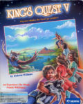 King's Quest V Box