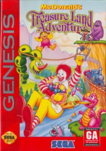 McDonald's Treasure Land Adventure Box