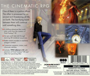 Parasite Eve Box Back