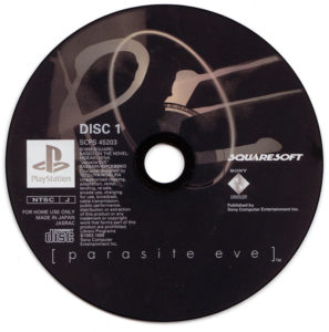 Parasite Eve Japanese Disc 1