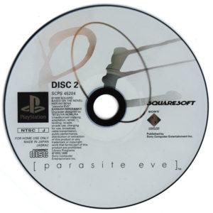 Parasite Eve Japanese Disc 2