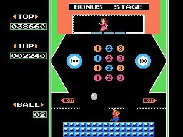 Pinball Bonus Screen