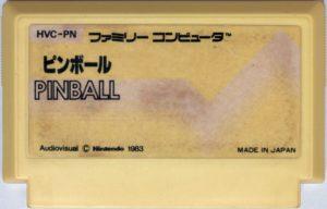 Pinball Famicom Cartridge