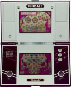 Pinball Game & Watch