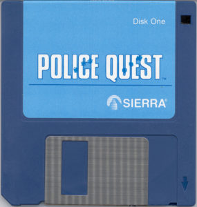 Police Quest 3.5 Floppy Disk