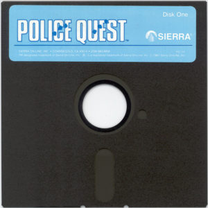 Police Quest 5.25 Floppy Disk