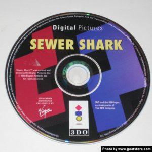 Sewer Shark 3DO Disc