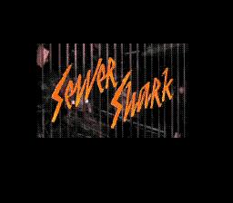 Sewer Shark Title Screen