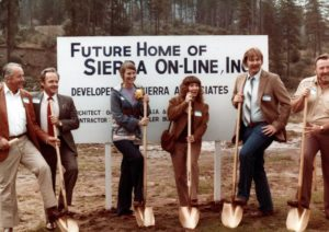 Sierra On-Line Groundbreaking for Oakhurst, California office