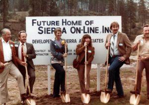 Sierra On-Line Groundbreaking for Oakhurst, California office