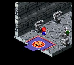Super Mario RPG Bowser's Castle
