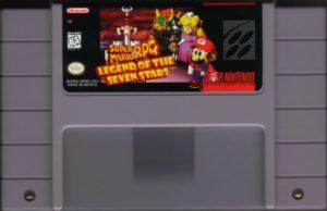 Super Mario RPG Cartridge