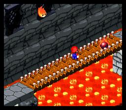 Super Mario RPG Lava