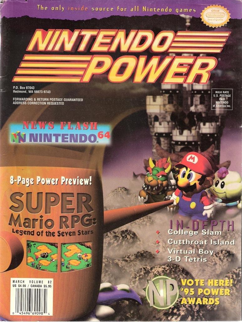 Super Mario RPG Nintendo Power