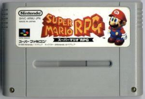 Super Mario RPG Super Famicom Cartridge