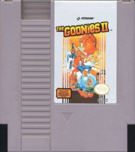 The Goonies II Cartridge