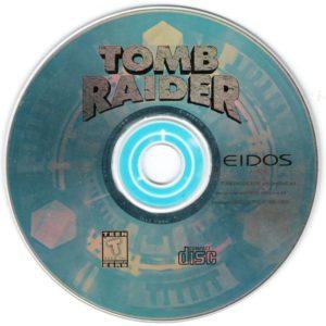 Tomb Raider DOS Disc