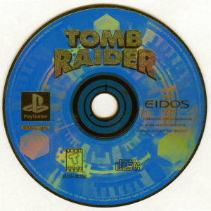 Tomb Raider PlayStation Disc