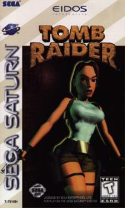 Tomb Raider Saturn Box