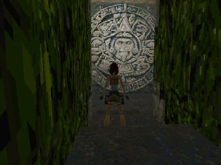 Tomb Raider Stone Carving