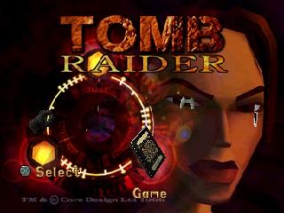 Tomb Raider Title Screen