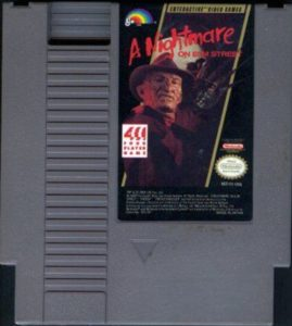 A Nightmare on Elm Street Cartridge