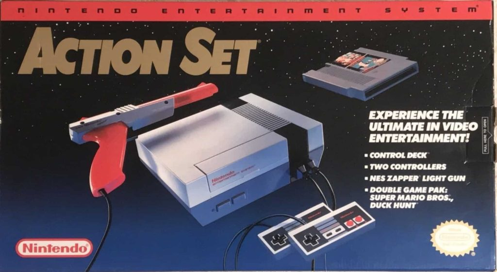 Action Set 1989 Box