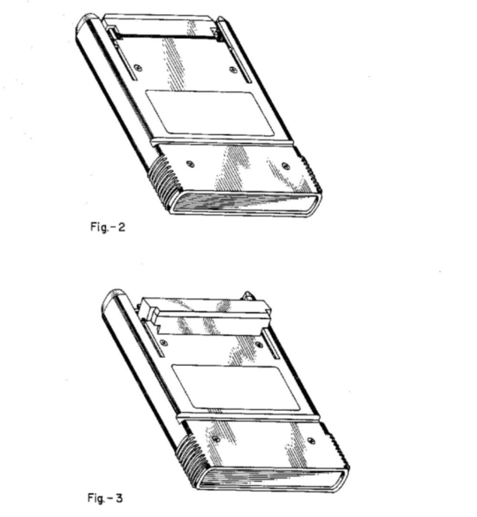 Fairchild Channel F Cartridge Patent Drawing 1 of 2