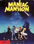 Maniac Mansion Apple II Box