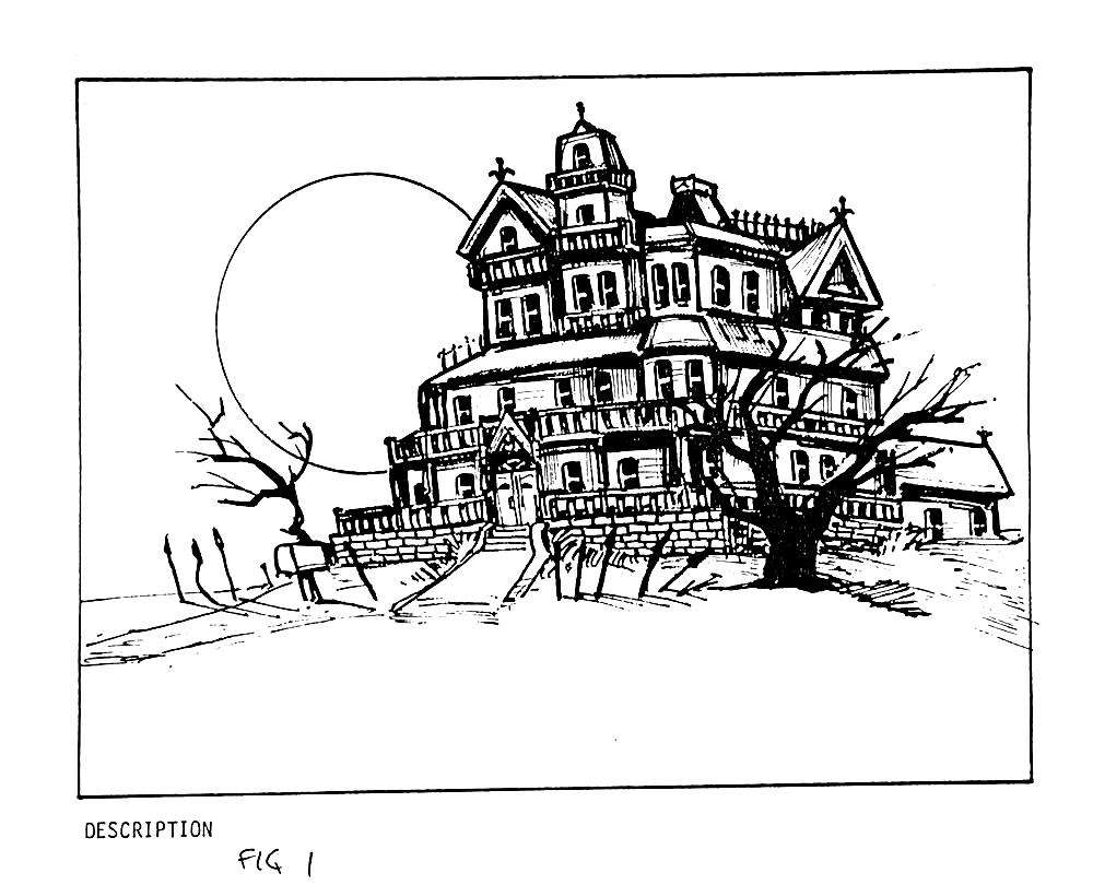 Maniac Mansion Concept Art 1