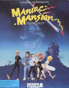 Maniac Mansion DOS Box