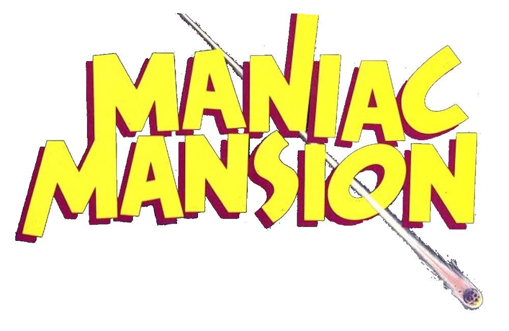 Maniac Mansion Logo