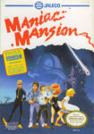 Maniac Mansion NES Box