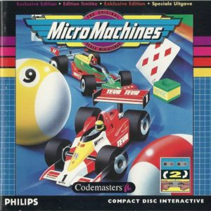 Micro Machines CDI Box