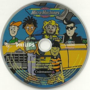 Micro Machines CDI Disc