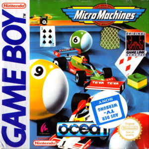 Micro Machines Game Boy Box