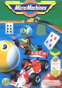 Micro Machines NES Box