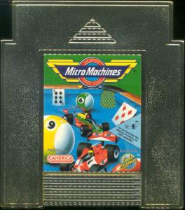 Micro Machines NES Cartridge