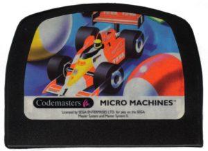 Micro Machines SMS Cartridge