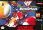Micro Machines SNES Box