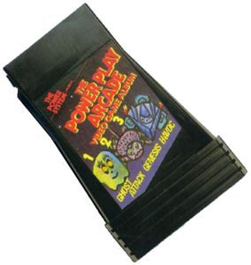 Power Play Arcade Video Soft Cartridge