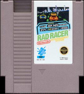 Rad Racer Cartridge