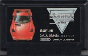 Rad Racer Japanese Cartridge