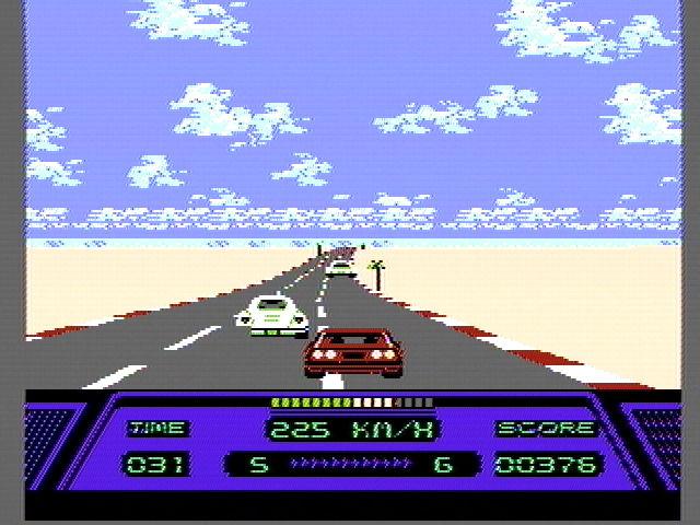 Rad Racer Racing 1