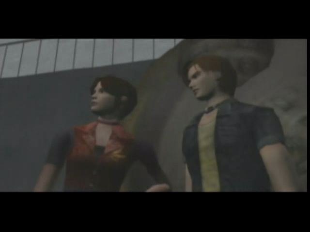 Resident Evil Code Veronica Claire and Steve