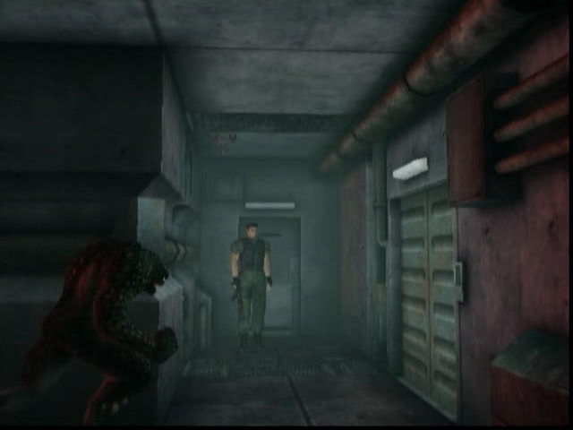 Resident Evil Code Veronica Creature around the corner