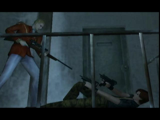 Resident Evil Code Veronica Cut Scene
