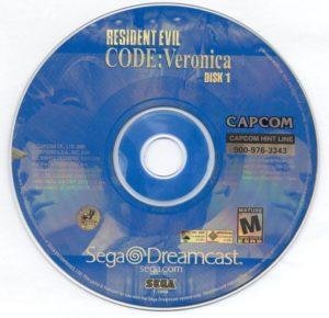 Resident Evil Code Veronica Disc 1
