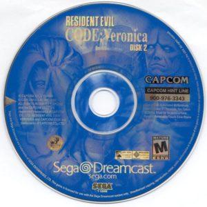 Resident Evil Code Veronica Disc 2