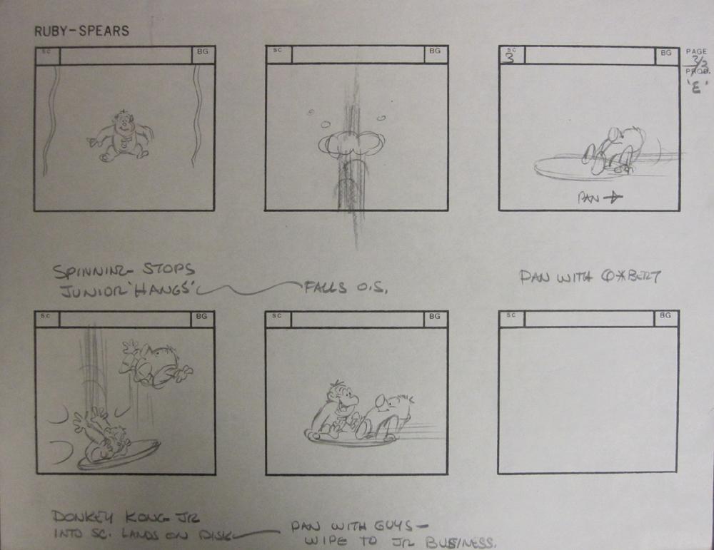 Story Board DK Jr 2